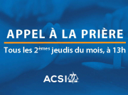Initiative de prière ACSI Europe